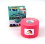 TEMTEX kinesio tape Tourmaline, růžová tejpovací páska 5cm x 5m